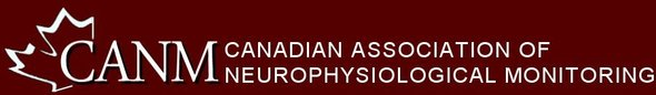 CANM: Canadian Association of Neurophysiological Monitoring Logo